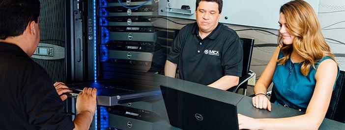 MCA team and Data Center
